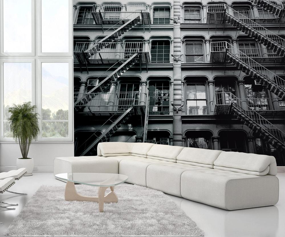 1Wall fototapeta New York bytový dom 315x232 cm