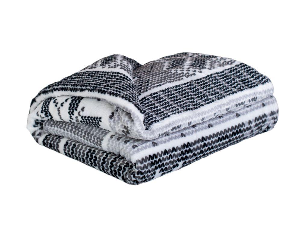 Homeville deka mikroplyš 150x200 cm Knit