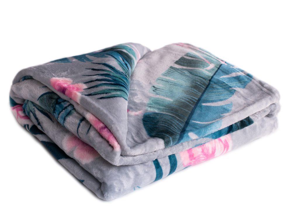 Homeville deka mikroplyš Flamingo - 220x200 cm