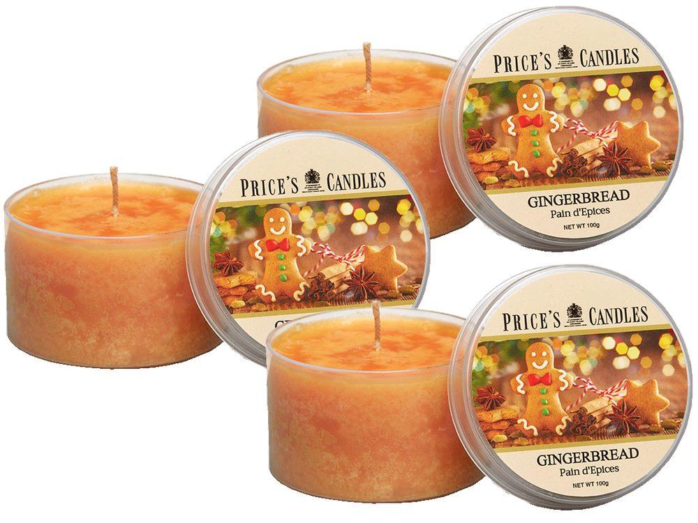 Price´s FRAGRANCE vonné svíčky Gingerbread 3ks - hoření 25h