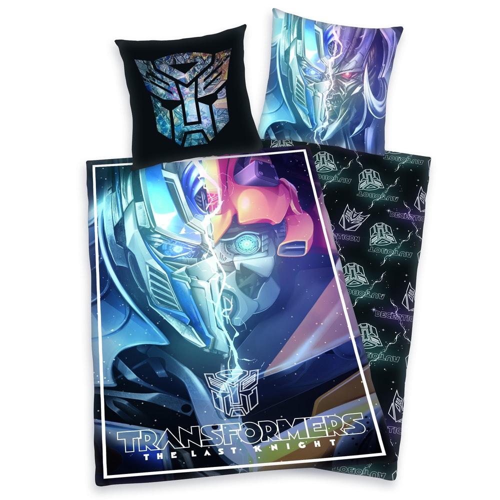 Herding obliečky Transformers - Posledný Rytier 140x200/70x90