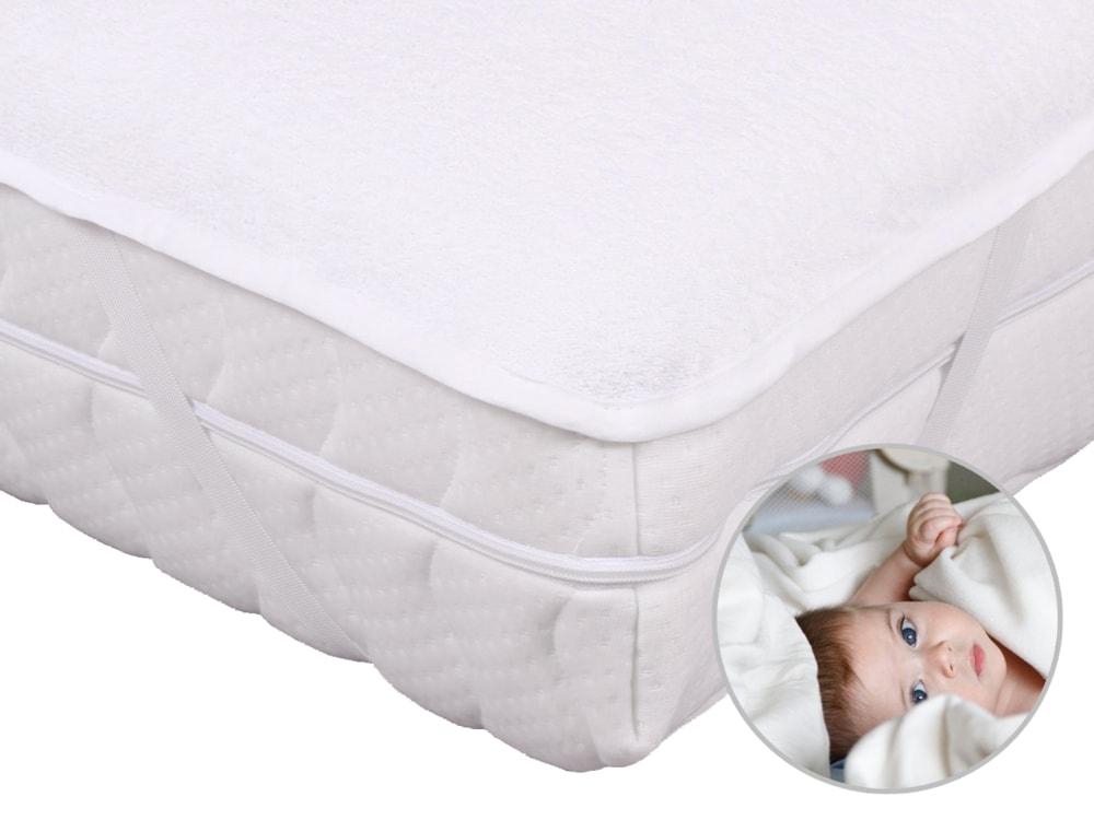 2G Lipov Nepriepustný jersey chránič matraca s PUR záterom pre bábätká - 60x120 cm