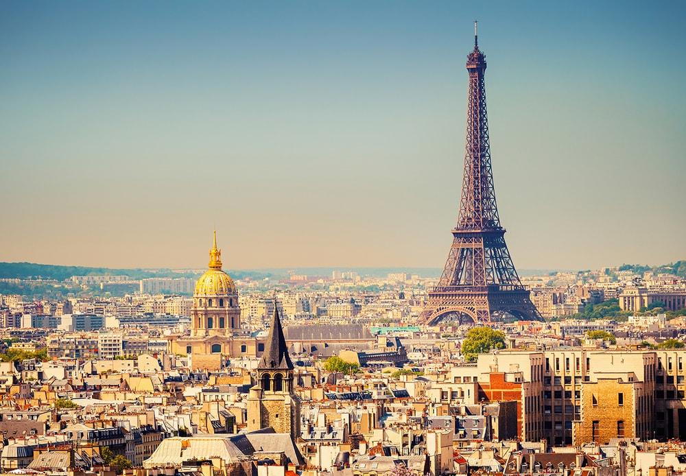 Wizard+Genius W+G vliesová fototapeta Paríž 366x254 cm