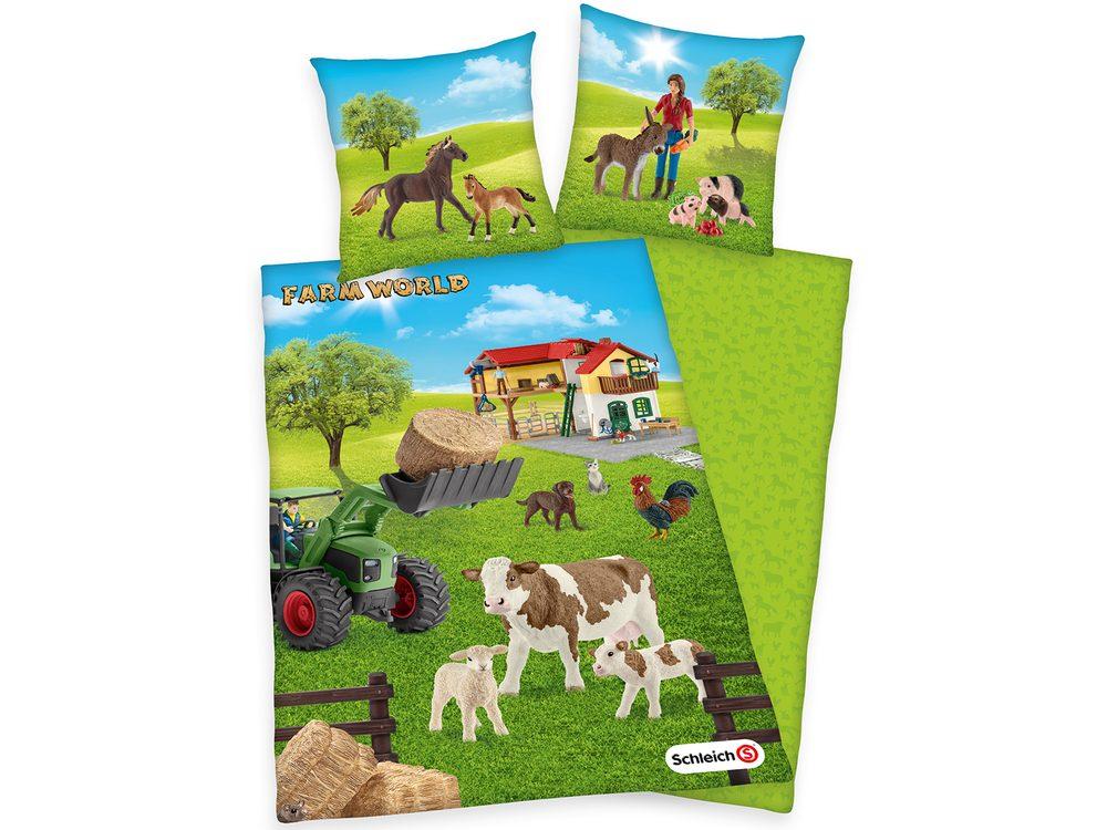 Herding Obliečka Schleich Farm World 140x200/70x90cm