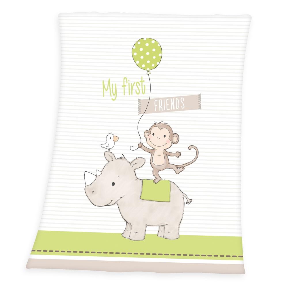 Herding Dečka pre bábätká Prvý priateľ 75x100 cm