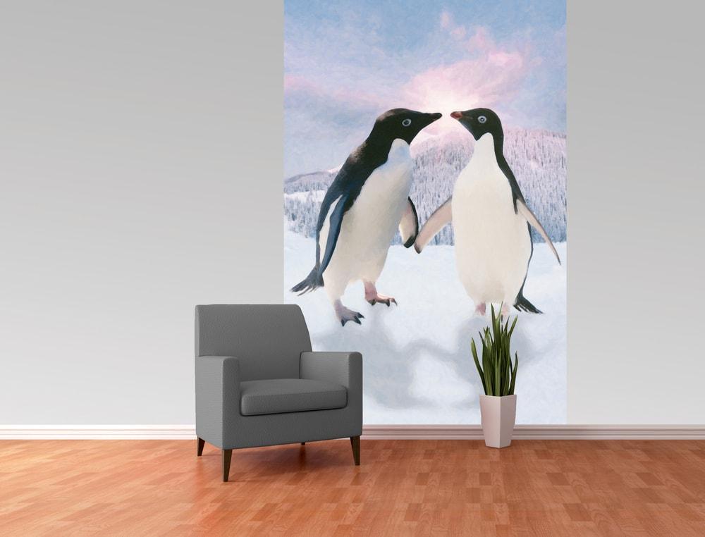 1Wall fototapeta Tučniaci 158x232 cm