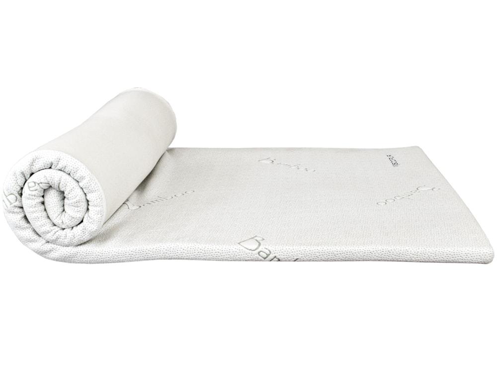 VISCOPUR Vrchný matrac VISCOPUR® bamboo 3,5 cm - 160x200 cm | 1ks (sleva 50%)