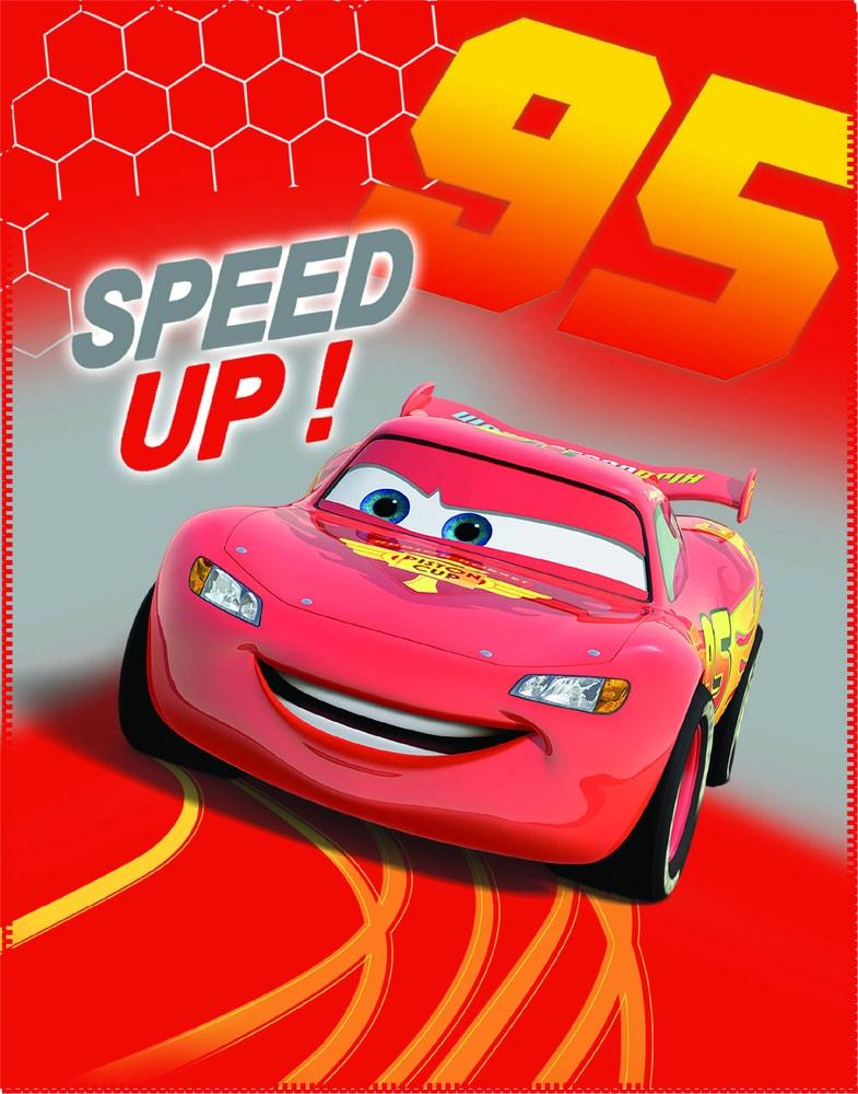 CTI Fleece dečka Cars (Autá) Go Go Go 110x140