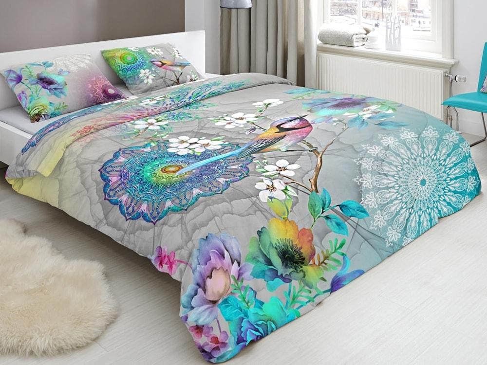 HIP Designové obliečky HIP bavlnený satén 5590 ADELE - 200x200-220 / 60x70 cm