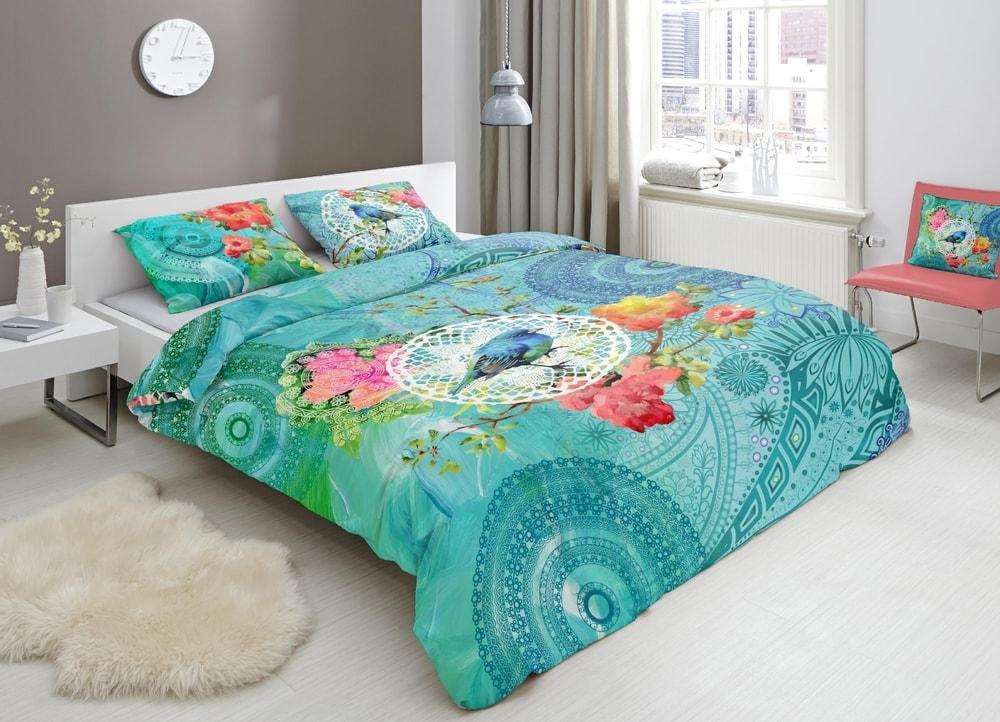 HIP Designové obliečky HIP bavlnený satén 5365 TESSYA - 140x200-220 / 60x70 cm