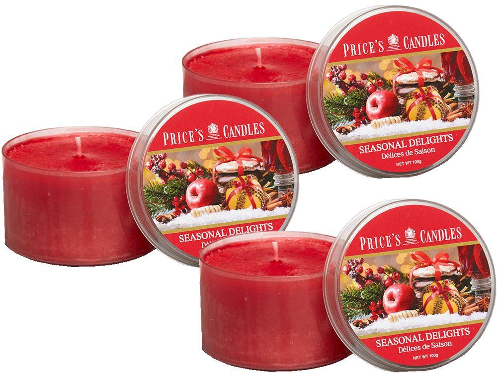Price´s FRAGRANCE vonné svíčky Seasonal Delight 3ks - hoření 25h