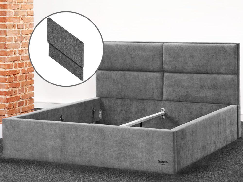 Čalouněná postel Slumberland BELFAST MISTRAL 180x200 cm