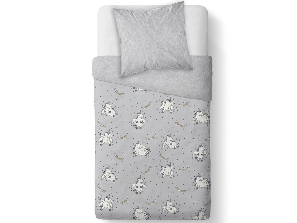 TODAY KIDS obliečka 100% bavlna Happy Unicorn 140x200/63x63 cm
