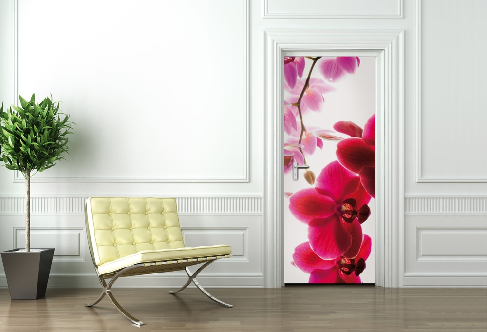 1Wall fototapeta Orchidea 95x210 cm