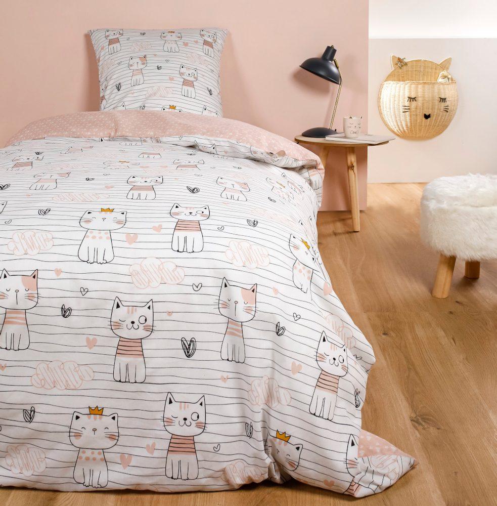 TODAY KIDS povlečení 100% bavlna Kitties 140x200/63x63 cm
