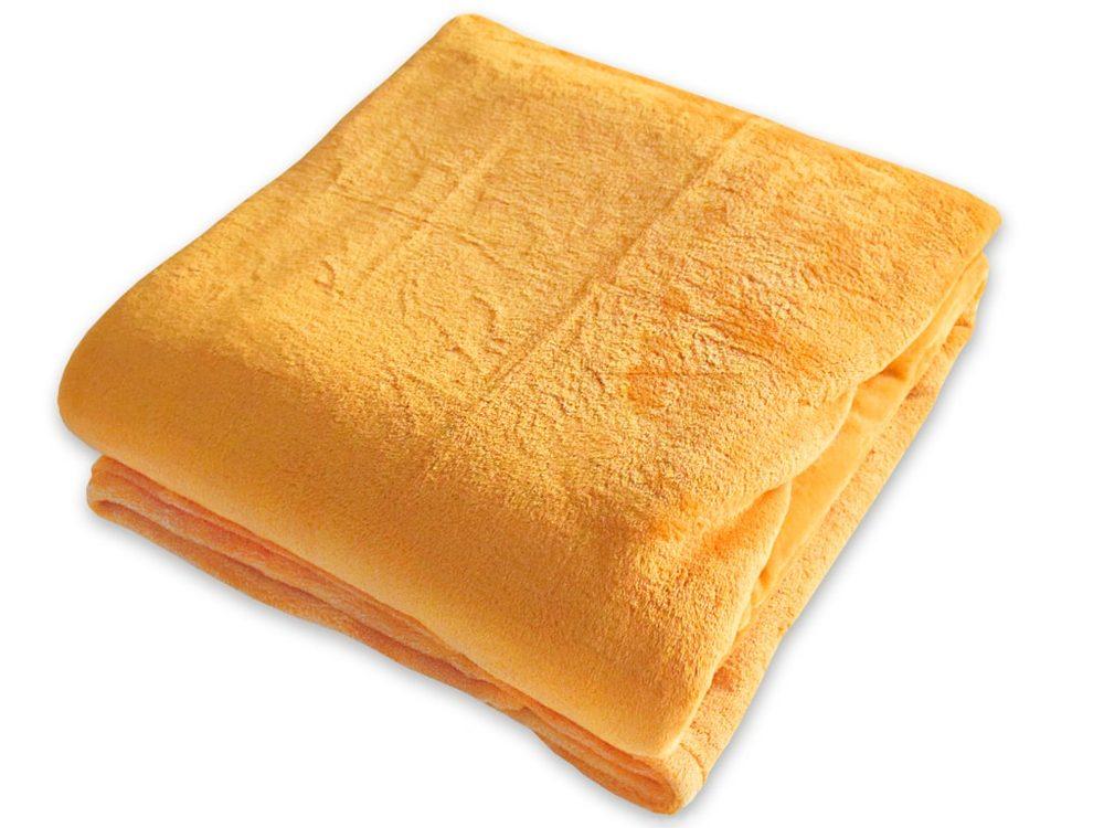 Homeville deka mikroplyš 150x200 cm žlutá