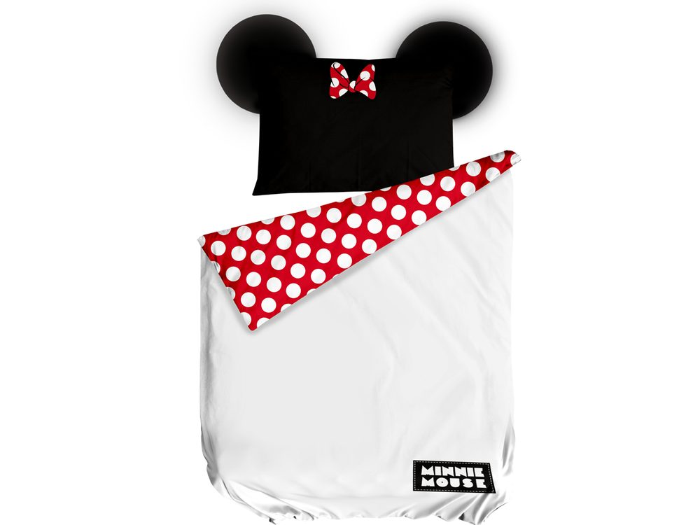 Herding obliečka Minnie Mouse 140x200/70x90cm