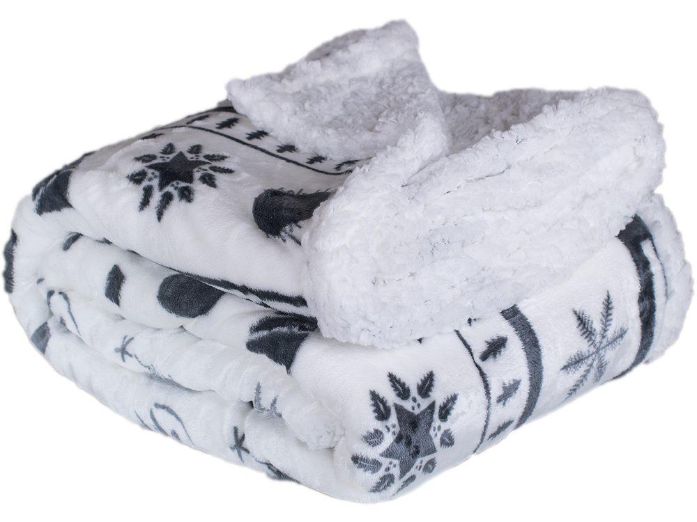 Homeville deka mikroplyš s baránkom 150x200 cm Christmas