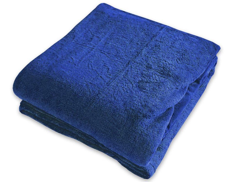 Homeville deka mikroplyš 150x200 cm modrá