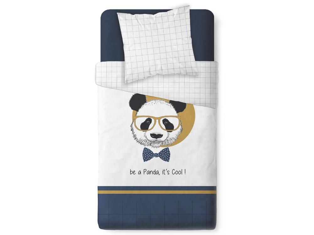 TODAY obliečka 100% bavlna Panda It's Cool 140x200/63x63 cm