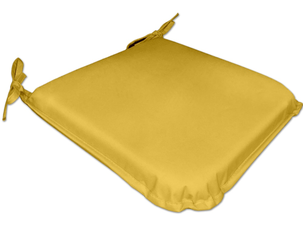 TODAY GARDEN SPIRIT vysoký podsedák na židli 40x40x6 cm Sunny - žlutá