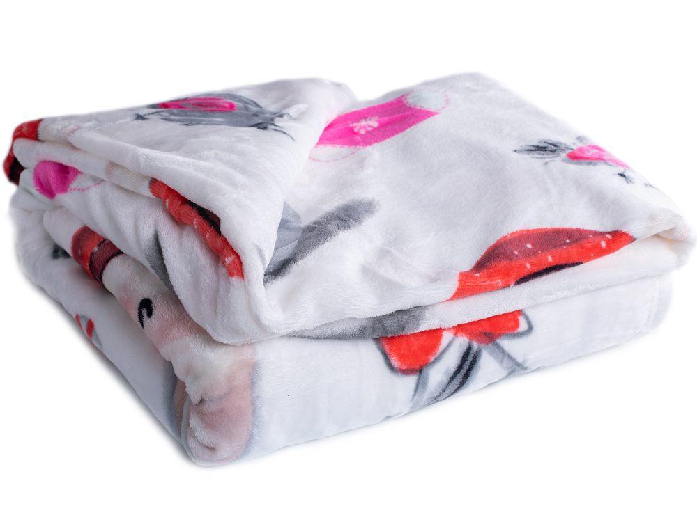 Homeville deka mikroplyš 150x200 cm Snehuliak