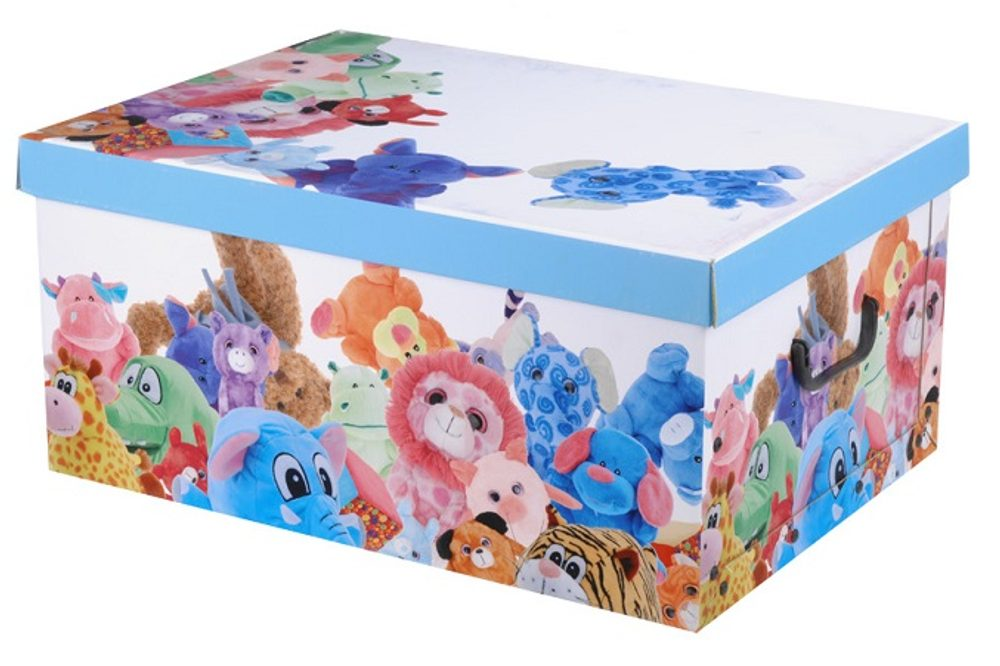 Home collection Úložný box MINI 37x31x16cm plyšové zvieratá