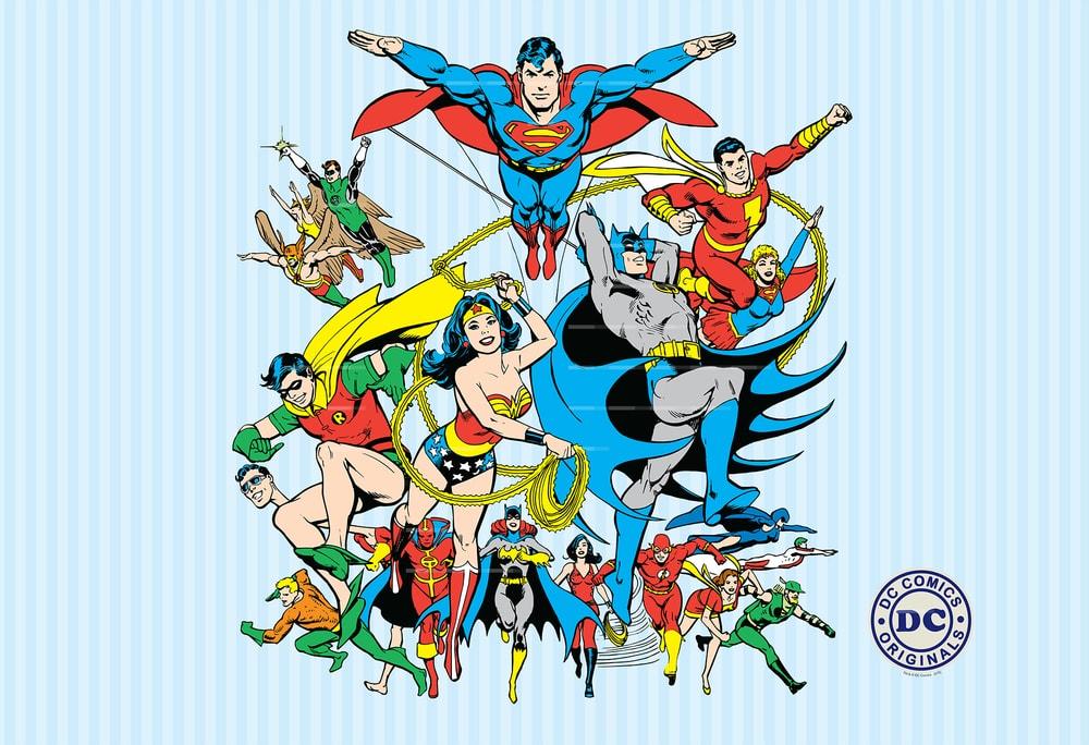 1Wall detská fototapeta DC Comics 158x232 cm