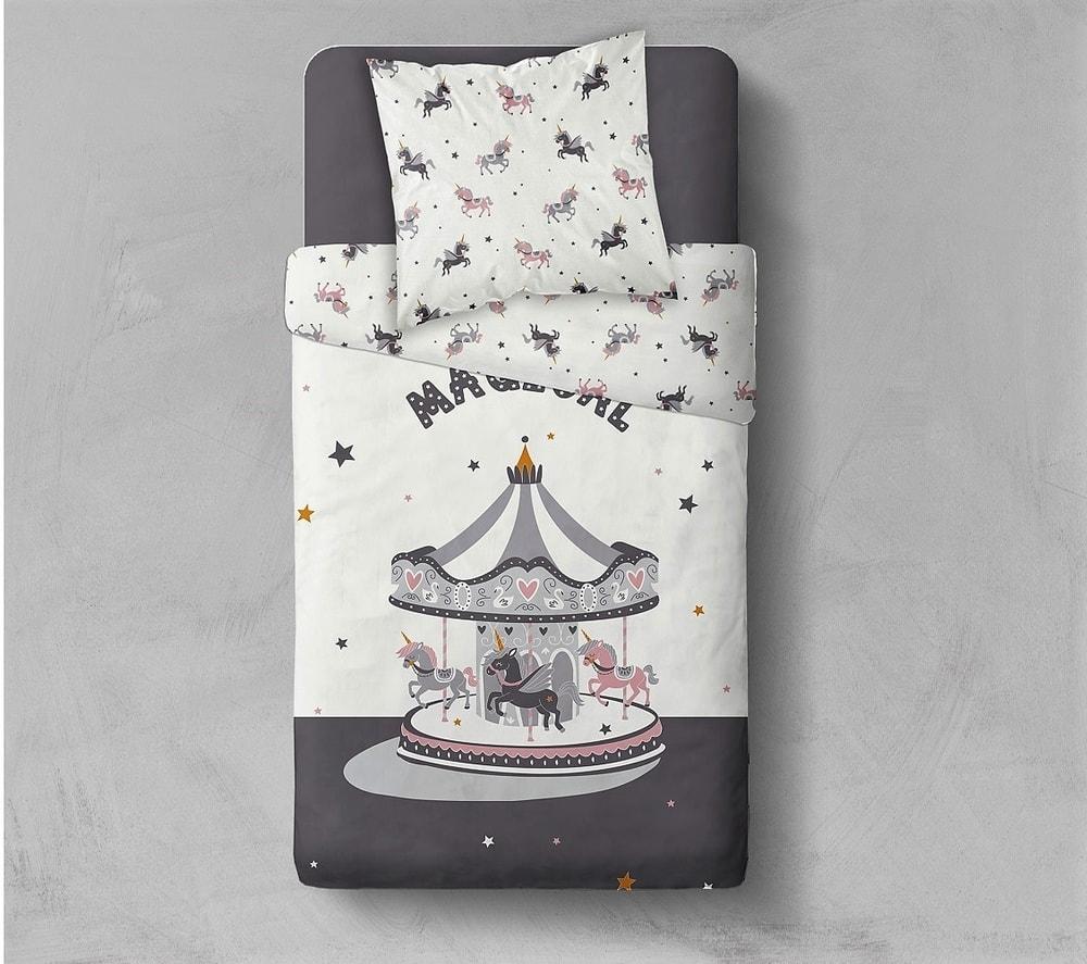 TODAY povlečení 100% bavlna Carrousel 140x200/63x63 cm