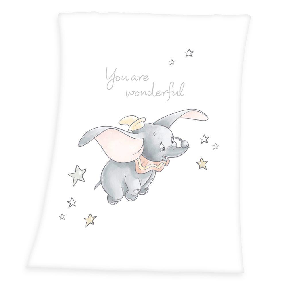 Herding Deka pre bábätká Dumbo 75x100 cm