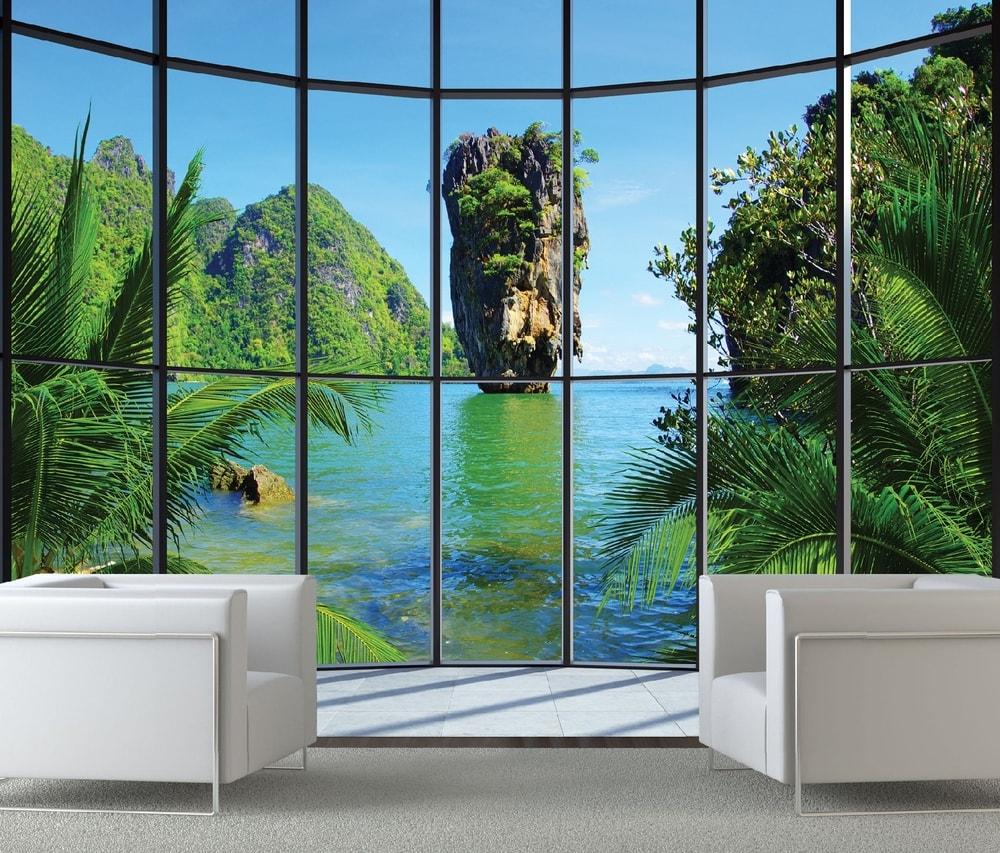 1Wall fototapeta Thajský raj 315x232 cm