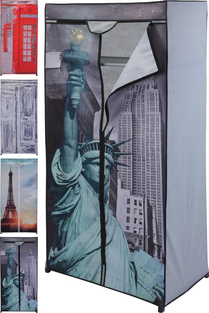Home collection Textilná skladacia skriňa 75x45x160cm Young collection - Socha svobody