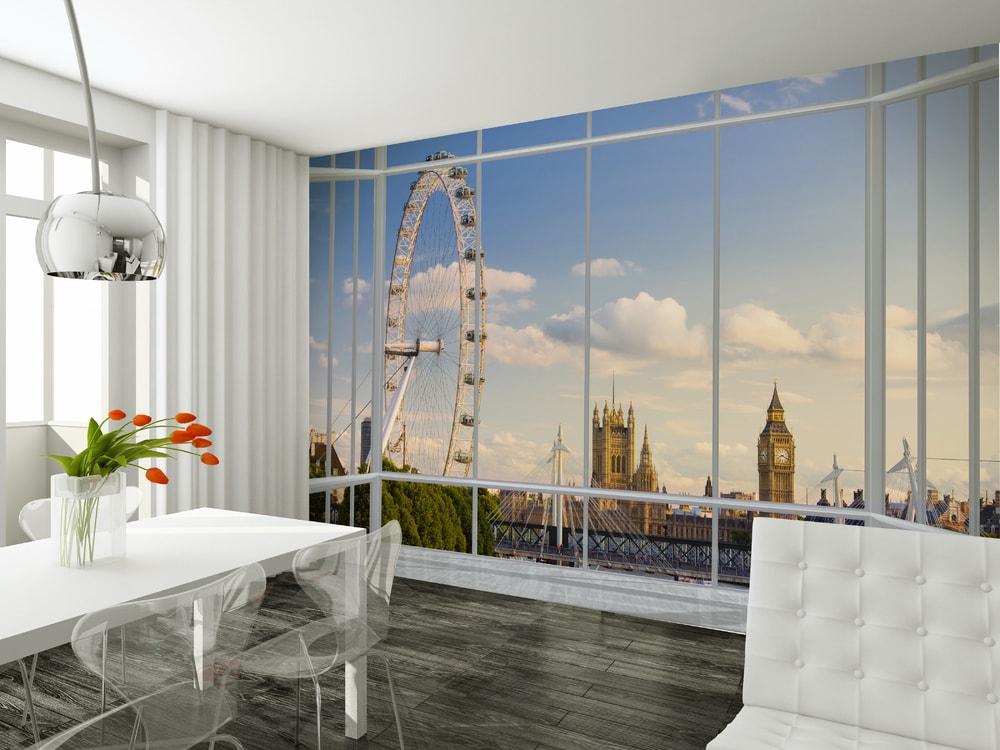 1Wall fototapeta Výhľad na Londýn 315x232 cm