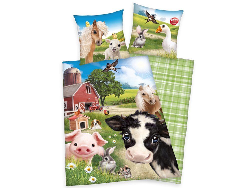 Herding Obliečka Animal Club Farm World 140x200/70x90cm