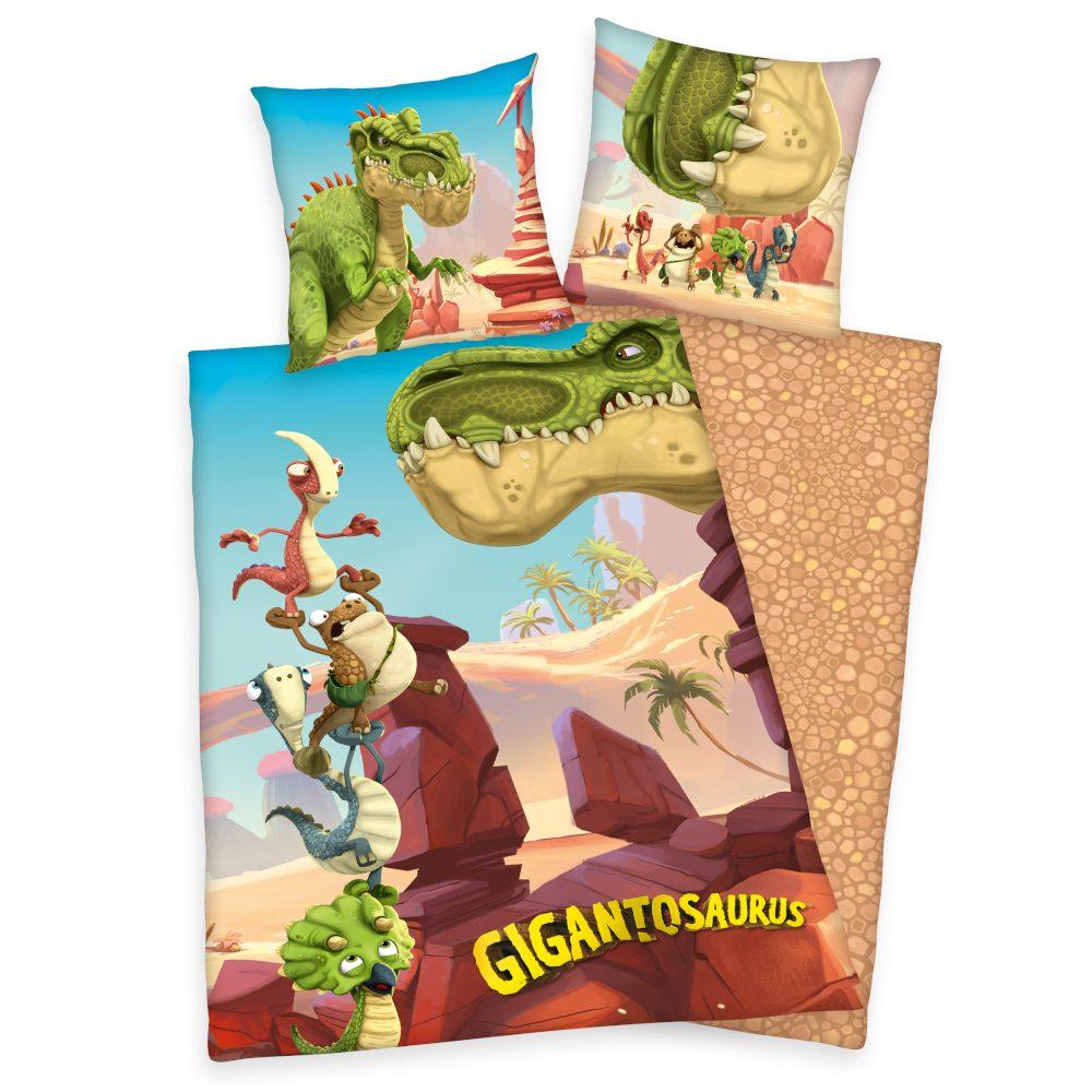 Herding Obliečka Gigantosaurus 140x200/70x90 cm