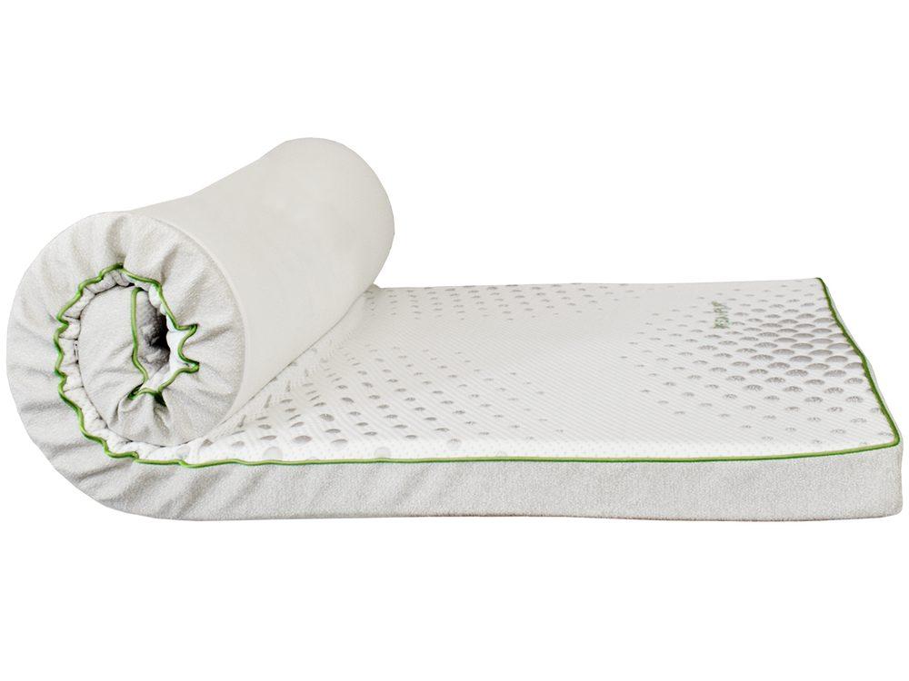 DREAMPUR Vrchný matrac z latexovej peny DREAMPUR® grey dots 8,5 cm - 120x200 cm