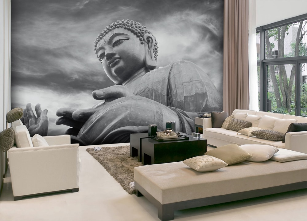 1Wall Vliesová fototapeta Buddha 366x253 cm