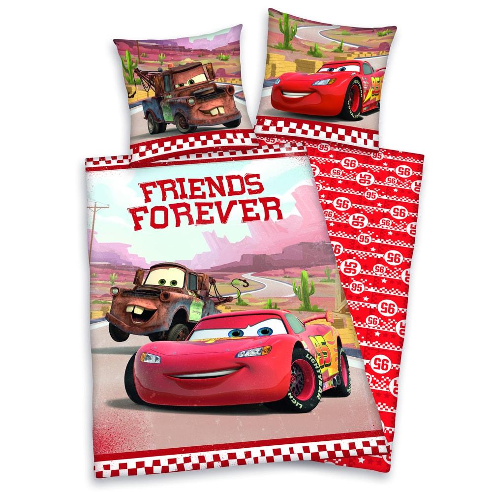 Herding Obliečky Cars Friends Forever 140x200,70x90