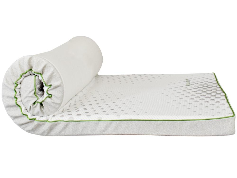 DREAMPUR Vrchný matrac z latexovej peny DREAMPUR® grey dots 8,5 cm - 180x200 cm | 1ks (sleva 50%)