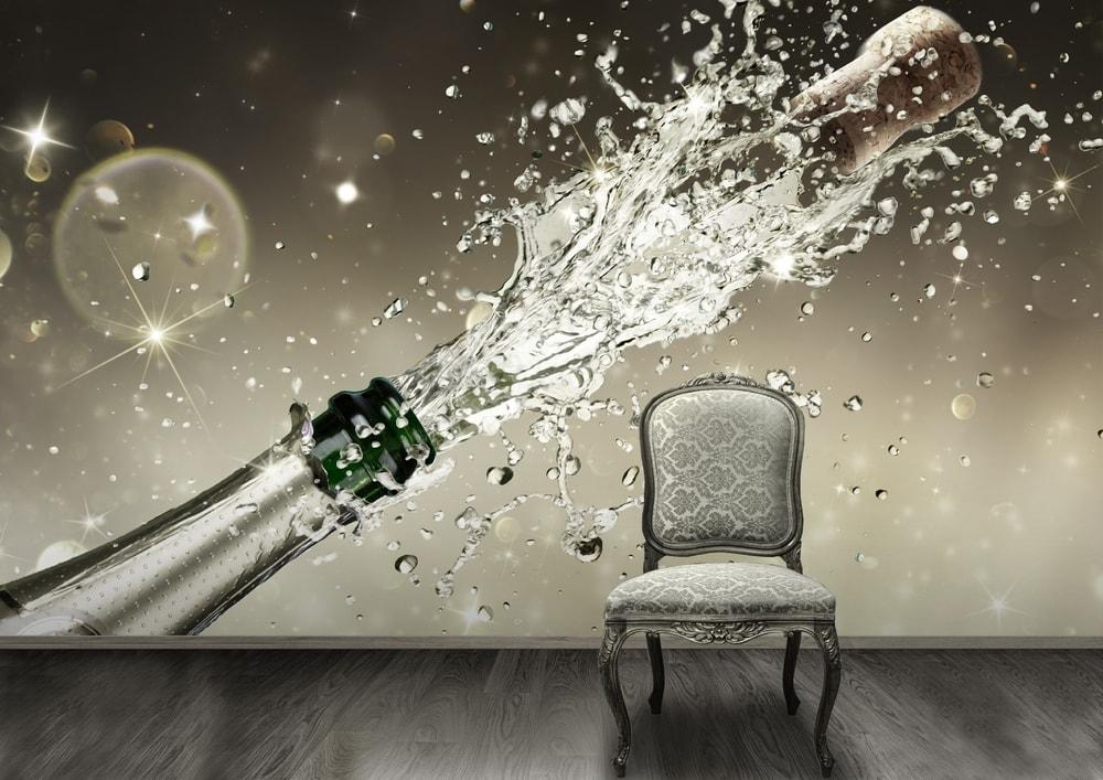 1Wall fototapeta Šampanské 315x232 cm
