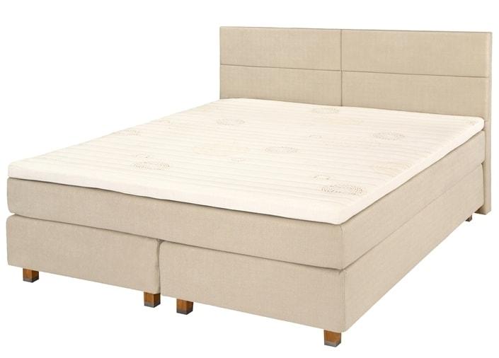 TROPICO/Hilding Anders Kontinentální postel Tropico Continental Comfort KLASIK 180x200 cm camel
