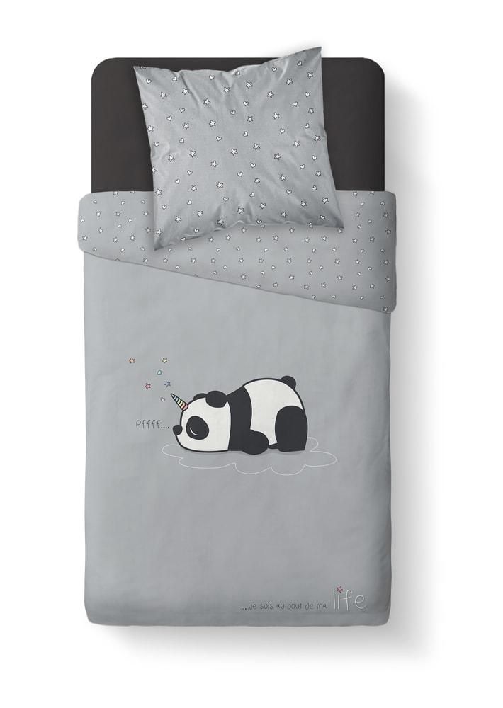 TODAY povlečení 100% bavlna Panda 140x200/63x63 cm
