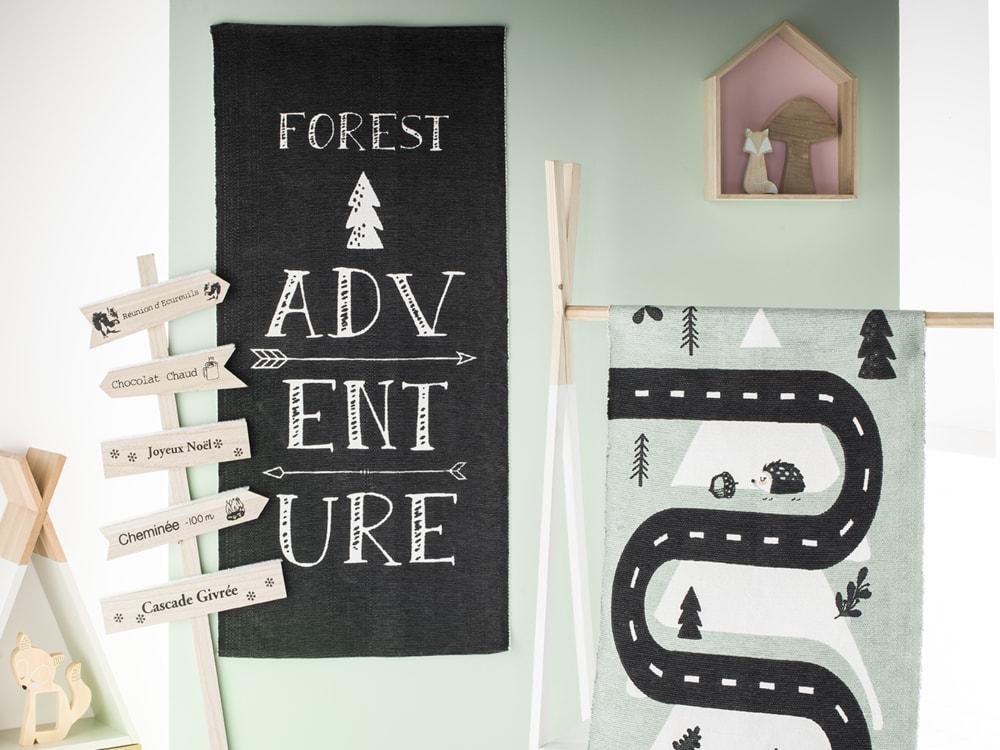 TODAY bavlněný koberec Forest Adventure 60x120 cm