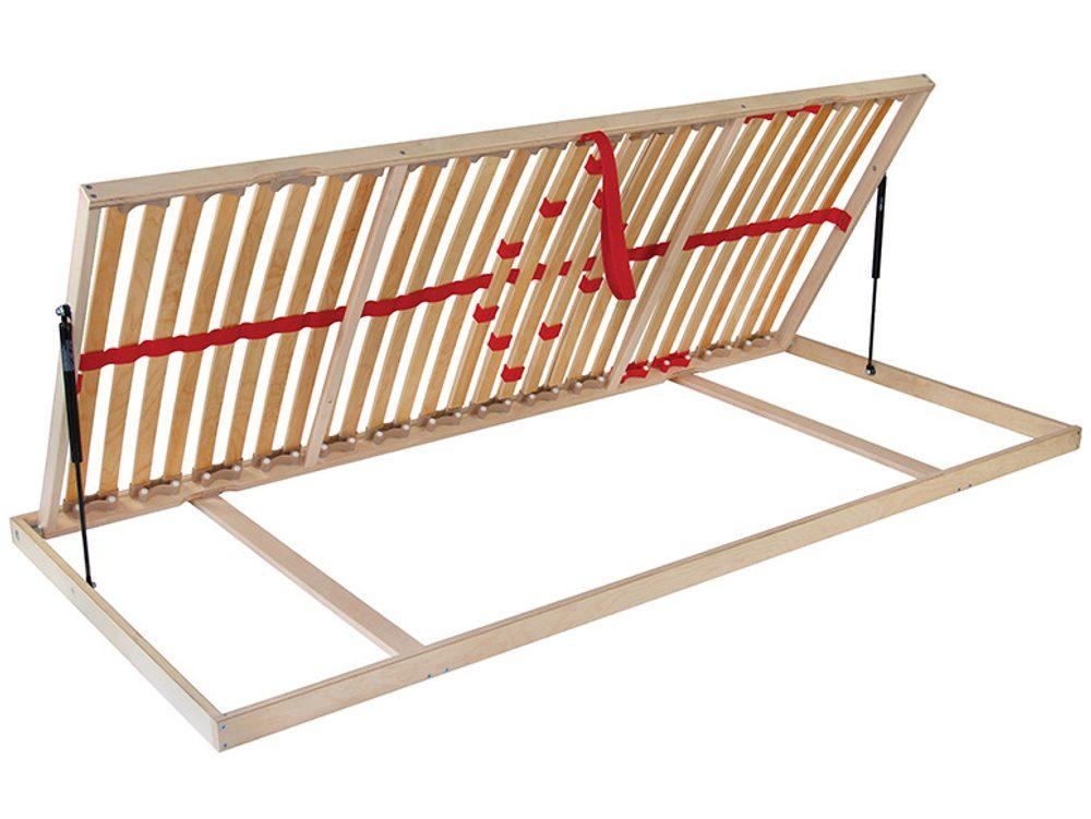 Ahorn Lamelový rošt Ahorn NEW Primaflex Kombi P výklopný - 90x200 cm / Levý