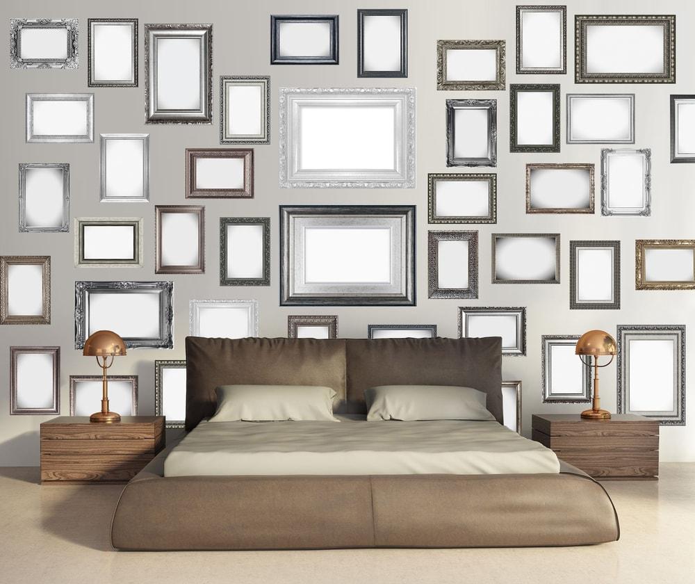 1Wall Kreatívna koláž 64 dielov 37,5 x 27,5cm Rámy a zrkadlá