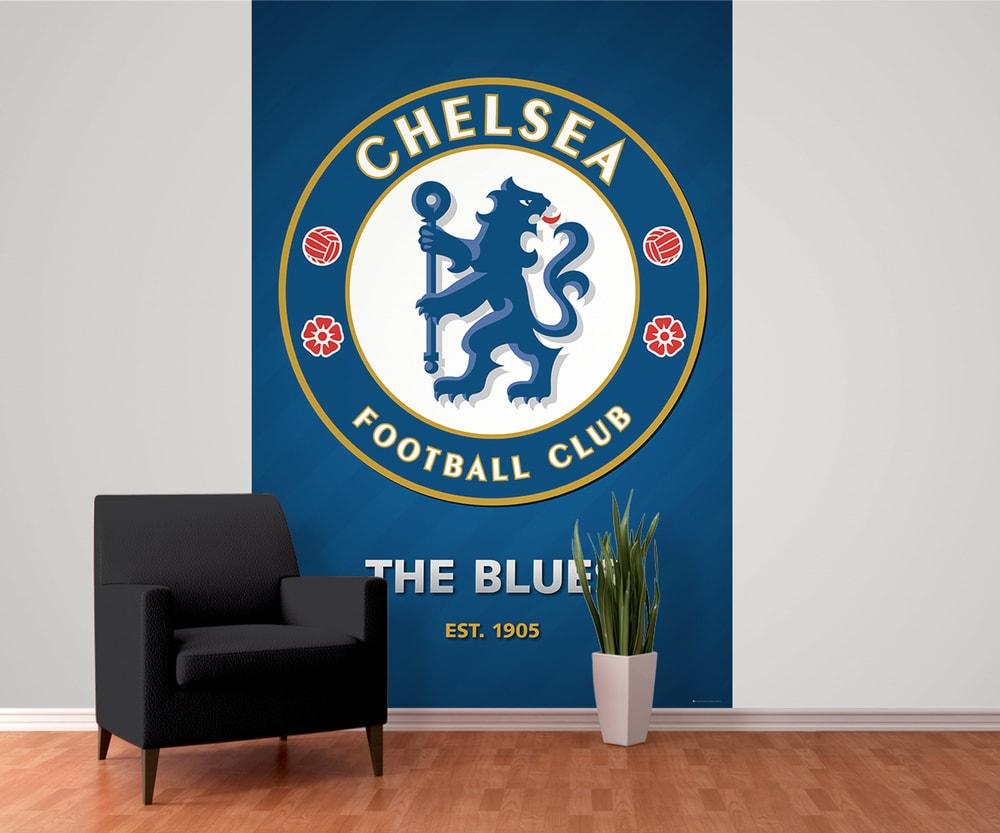 1Wall fototapeta Futbalový klub Chelsea 158x232 cm