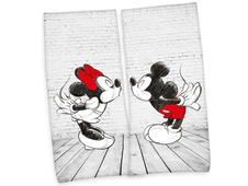 Set osušek Minnie & Mickey Mouse 80x180 cm - 2 ks