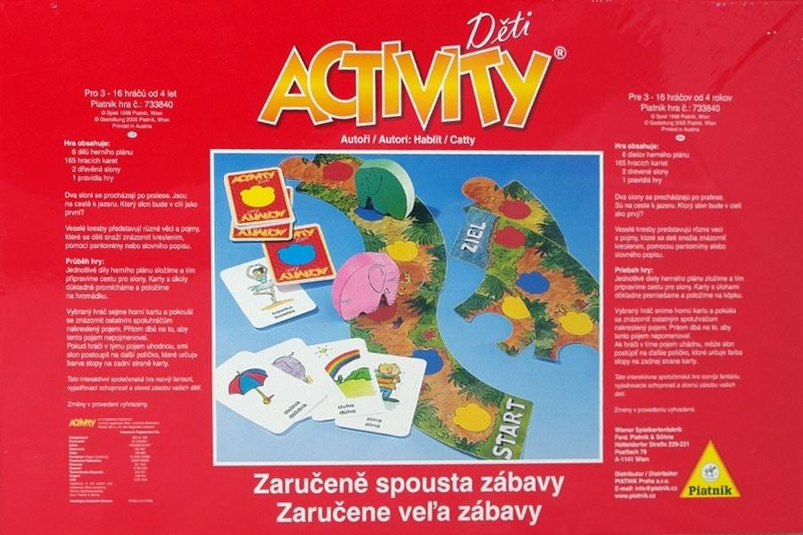 5adc233ae Activity Děti | Activity | SVĚT-HER.CZ | Společenské deskové hry ...