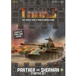 Tanks: Panther vs Sherman - Starter Set