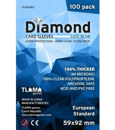 Produkt Obaly na karty (59x92mm) European Standard - Diamond, 100 ks